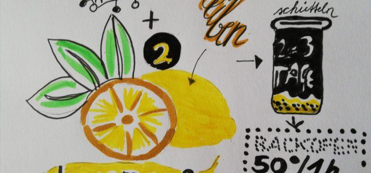Genussrezept – Zitronensalz